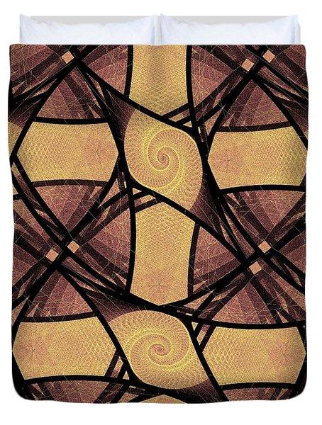Net Duvet Cover by Anastasiya Malakhova