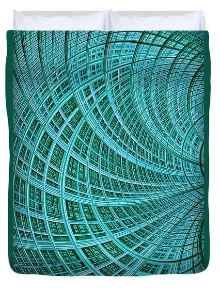 Network Duvet Cover by John Edwards