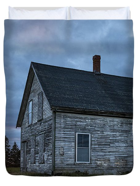 New Day Old House Duvet Cover by John Greim