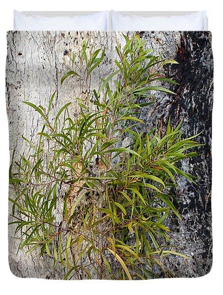 New Growth Duvet Cover by Steven Ralser