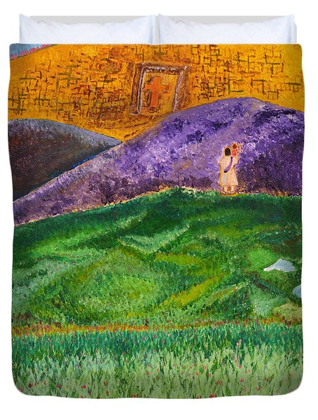 New Jerusalem Duvet Cover by Cassie Sears