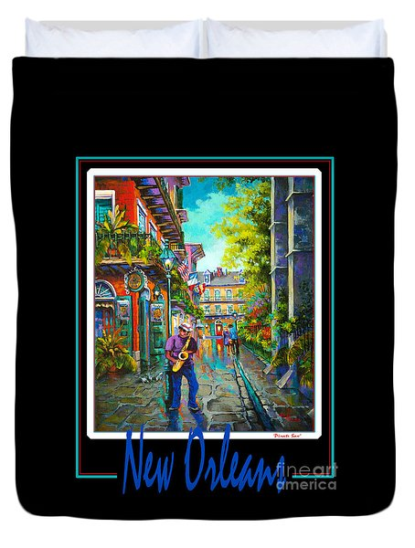 New Orleans Duvet Cover by Dianne Parks