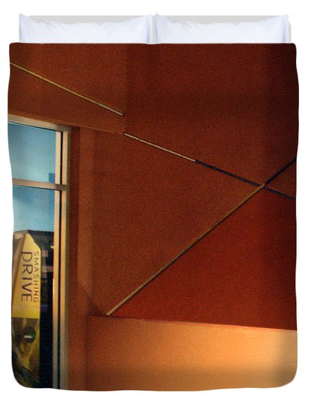 Night Interior With Window Duvet Cover by Ben and Raisa Gertsberg
