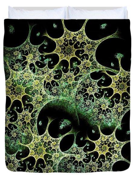 Night Lace Duvet Cover by Anastasiya Malakhova