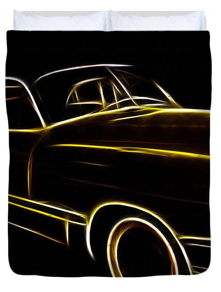 Night Rider Duvet Cover by Cheryl Young