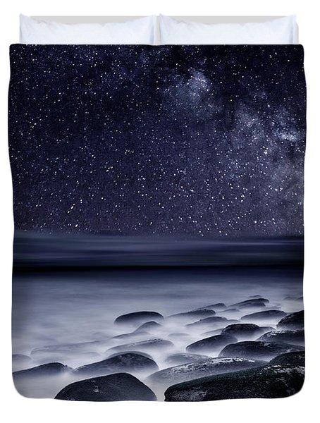 Night shadows Duvet Cover by Jorge Maia