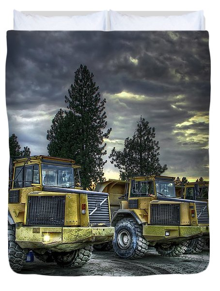 Night Shift Duvet Cover by Daniel Hagerman