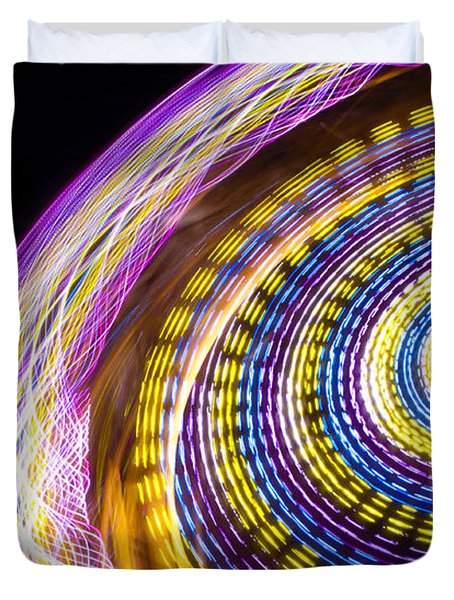 Night Zipper Duvet Cover by Caitlyn  Grasso