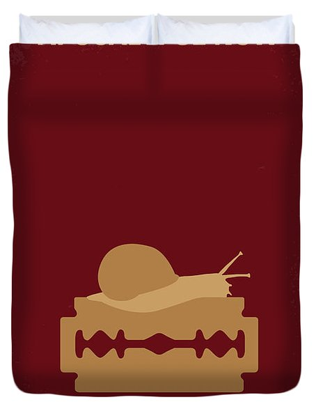 No006 My Apocalypse Now Minimal Movie Poster Duvet Cover by Chungkong Art