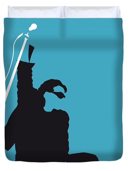 No035 My U2 Minimal Music Poster Duvet Cover by Chungkong Art