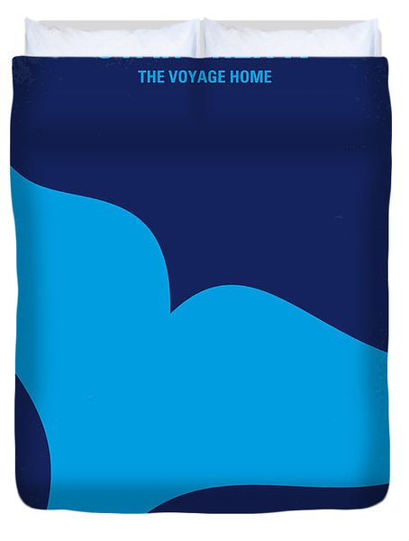 No084 My Star Trek 4 Minimal Movie Poster Duvet Cover by Chungkong Art