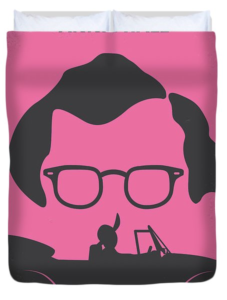 No147 My Annie Hall Minimal Movie Poster Duvet Cover by Chungkong Art