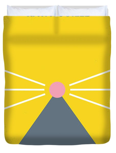 No163 My Ratatouille Minimal Movie Poster Duvet Cover by Chungkong Art