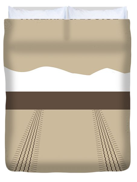 No189 My Thelma and Louise minimal movie poster Duvet Cover by Chungkong Art