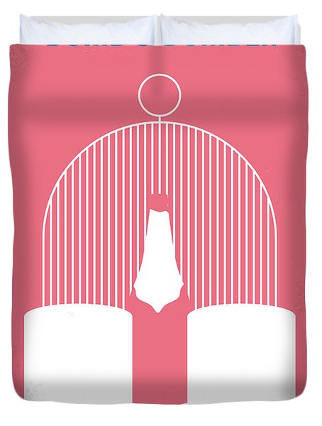 No241 My Dumb And Dumber Minimal Movie Poster Duvet Cover by Chungkong Art