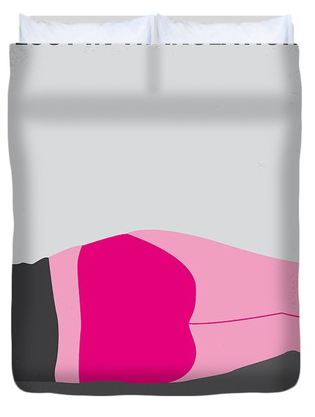 No287 My Lost in Translation minimal movie poster Duvet Cover by Chungkong Art