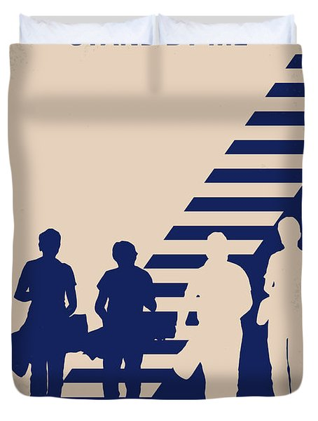 No429 My Stand By Me Minimal Movie Poster Duvet Cover by Chungkong Art