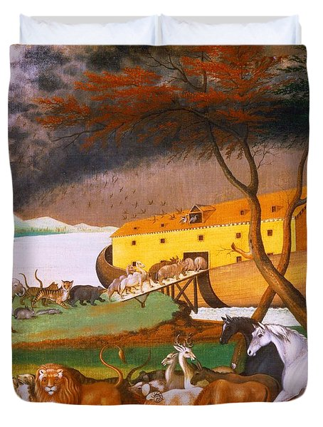 edward hicks noahs ark Interest in the ark spiked in the 1970s after a man  incredible discovery of noah's ark,  noah's ark discoveries (painting above is edward hicks.