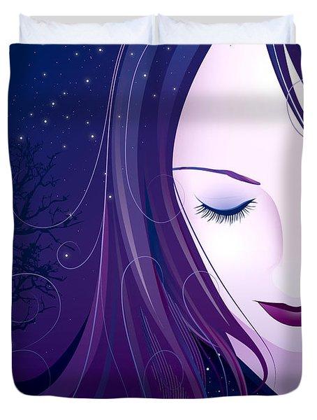 Nocturn Duvet Cover by Sandra Hoefer