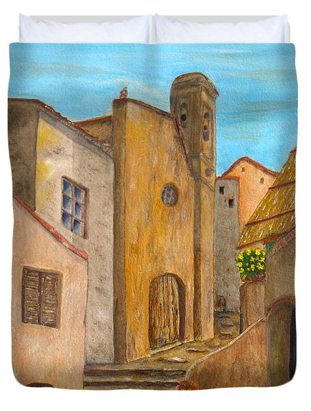 Nola 2 Duvet Cover by Pamela Allegretto