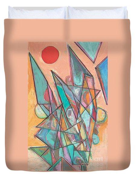Noontime Duvet Cover by Allan P Friedlander