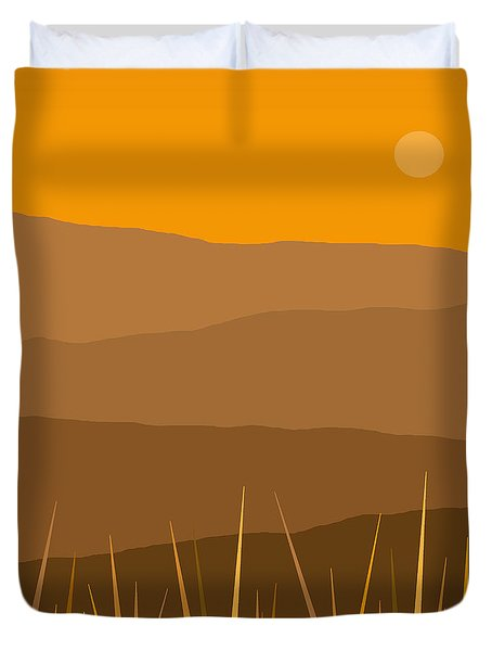 North Duvet Cover by Val Arie