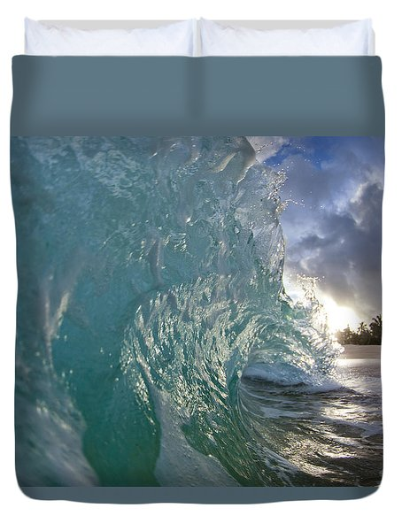 Not yet titled. Duvet Cover by Sean Davey