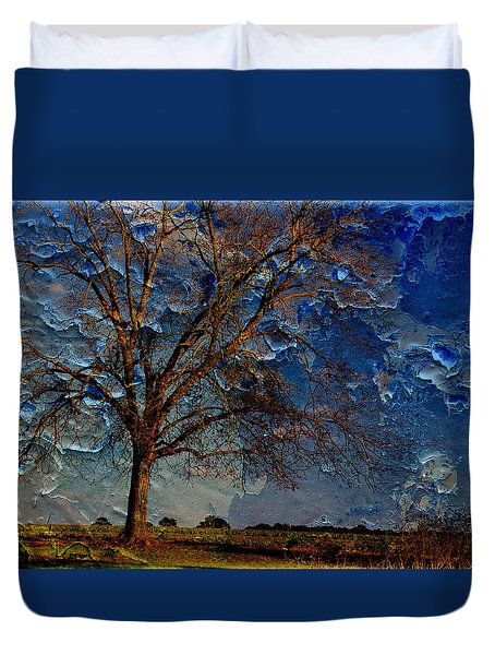Nothing But Blue Skies Duvet Cover by Jan Amiss Photography