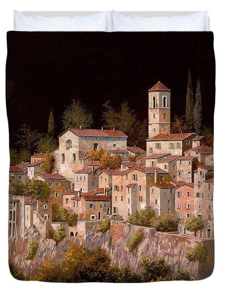 Notte Senza Luna Duvet Cover by Guido Borelli