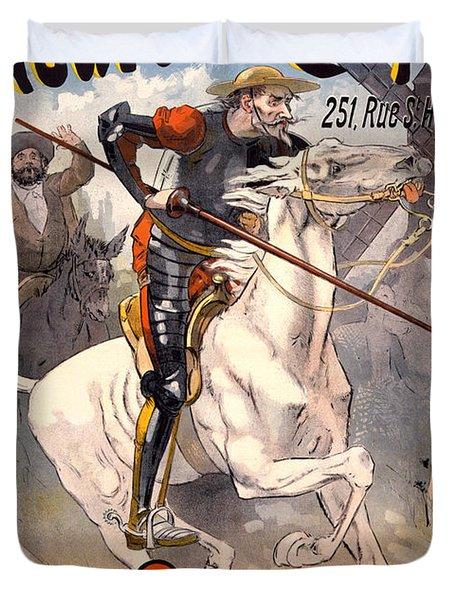 Nouveau Cirque Duvet Cover by Gary Grayson