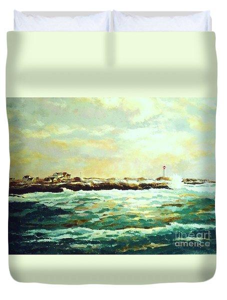 Nova Scotia Duvet Cover by Madeleine Holzberg