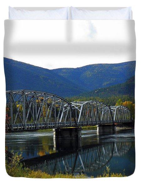 Noxon Bridge  Duvet Cover by Tonya P Smith