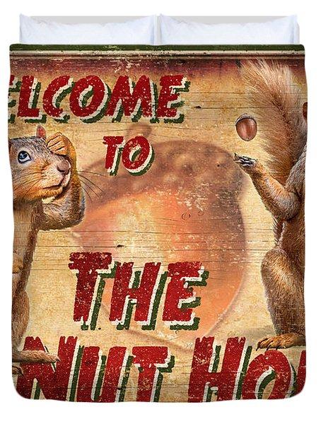 Nut House 2 Duvet Cover by JQ Licensing