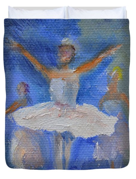 Nutcracker Ballet Duvet Cover by Donna Tuten