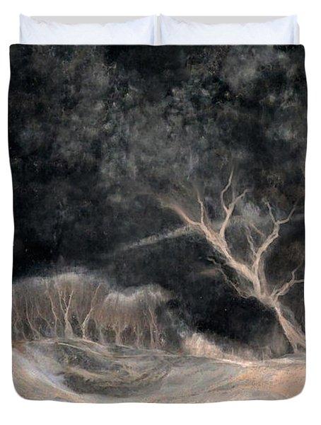 O2 Duvet Cover by Hans Neuhart