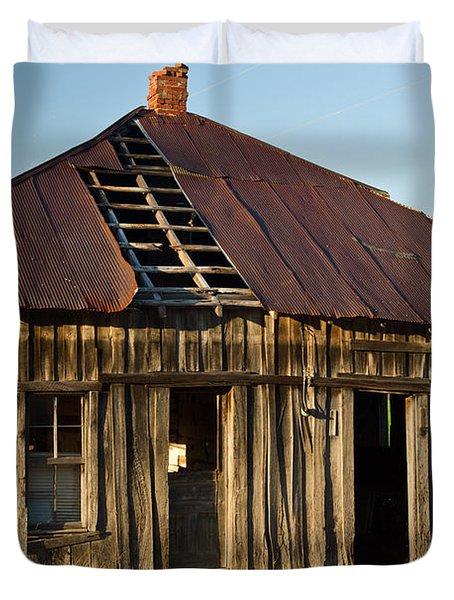 OAlOld House Place Arkansas Duvet Cover by Douglas Barnett