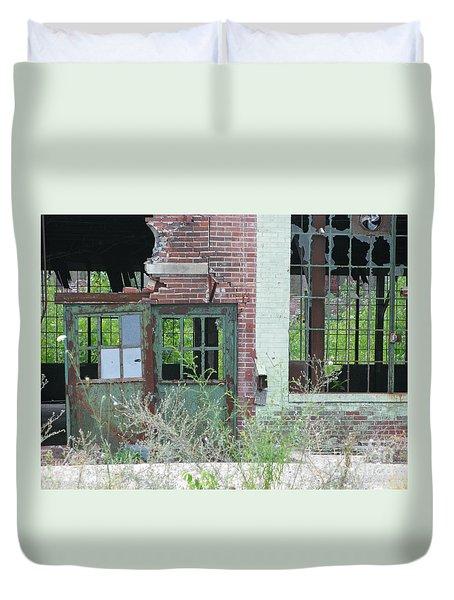 Obsolete Duvet Cover by Ann Horn