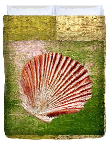 Ocean Life Duvet Cover by Lourry Legarde