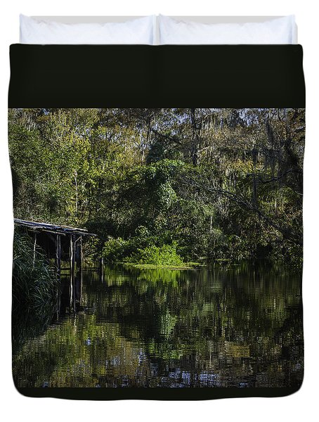 Off The Beaten Path Duvet Cover by Judy Hall-Folde