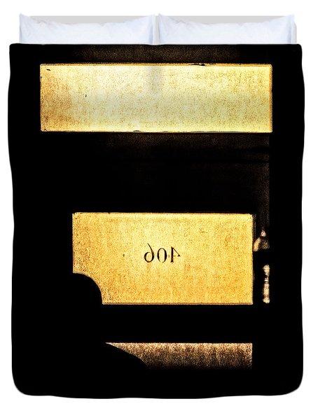 Office 406 Duvet Cover by Bob Orsillo