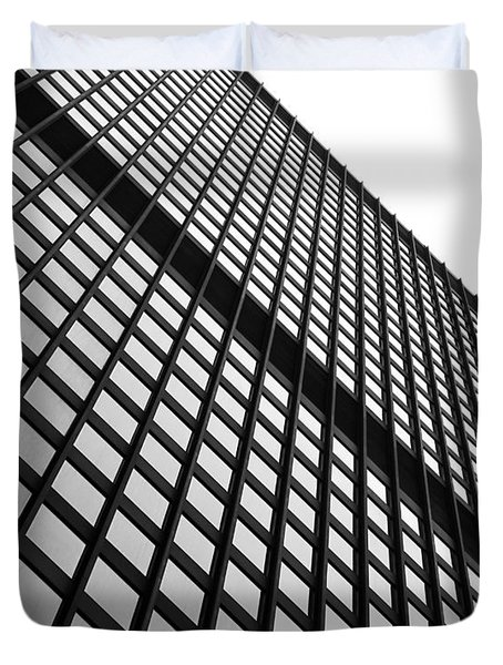 Office Building Facade Duvet Cover by Valentino Visentini