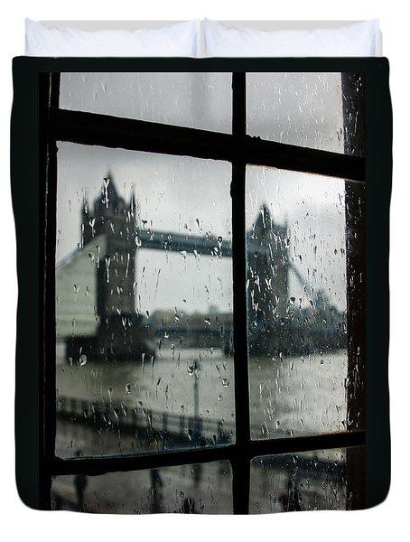 Oh So London Duvet Cover by Georgia Mizuleva