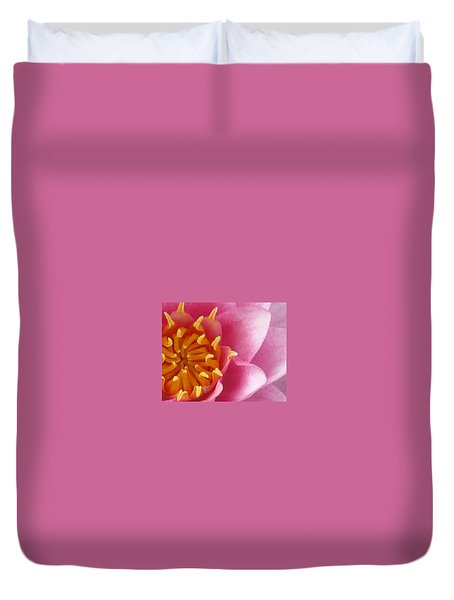 Okeefe Lily Blossom Duvet Cover by Debbie Finley