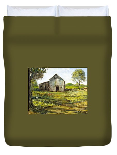 Old Barn Duvet Cover by Lee Piper