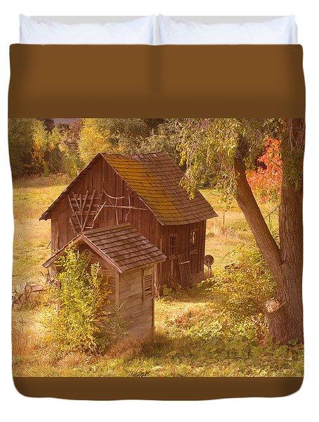 Old Blacksmiths Shop  Duvet Cover by Jeff Swan
