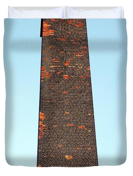 Old Brick Stack Duvet Cover by Valentino Visentini