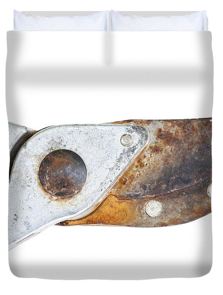 old clippers Duvet Cover by Michal Boubin