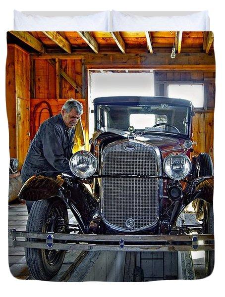 Old Fashioned Tlc Duvet Cover by Steve Harrington