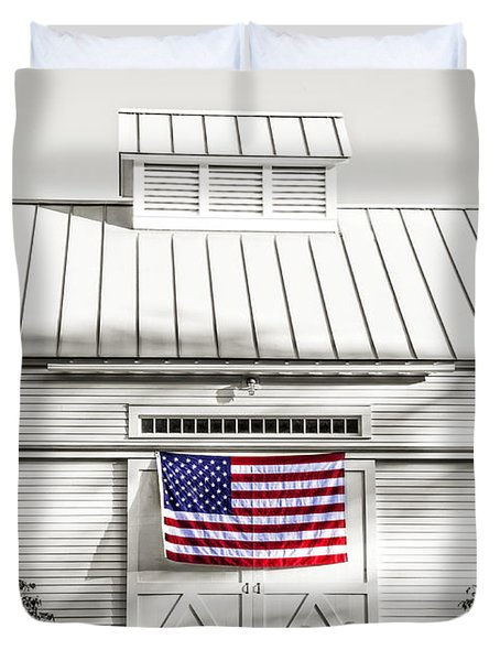Old Glory Circa 1776 Duvet Cover by Edward Fielding
