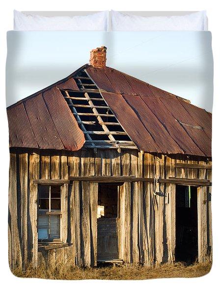 Old House Place Arkansas 3 Duvet Cover by Douglas Barnett